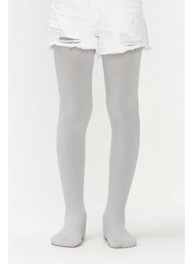Penti Kız Çocuk Siyah Pretty Termal  Külotlu Çorap PCLP7TKG18SK Gri
